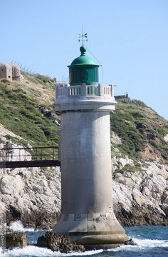 The Desirade lighthouse, Marseille, France