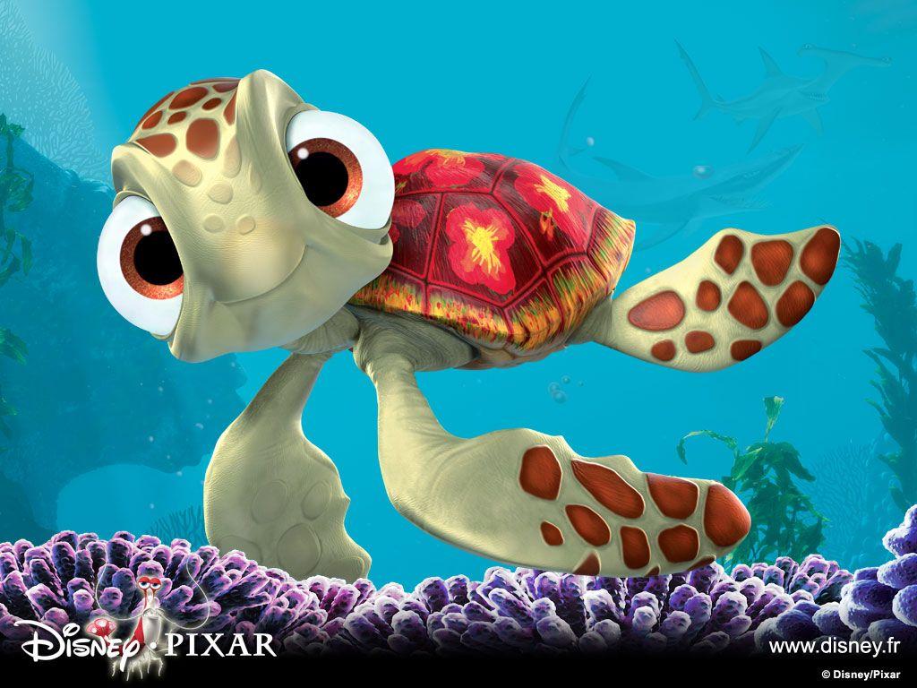 Chiqui Buscando A Nemo D Finding Nemo Characters Cartoon Turtle Finding Nemo Turtle