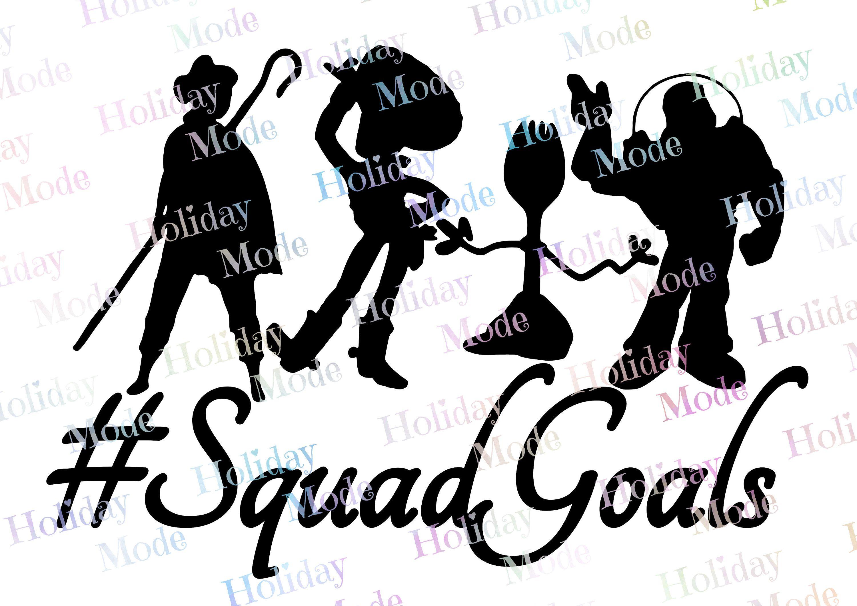 Squad Goals Toys