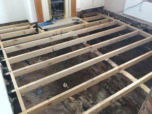 Single Floor Joists Of Room Timber Flooring Flooring Design Projects