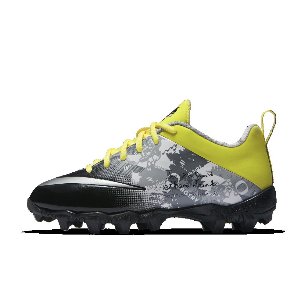 b76316f9ecb Nike Vapor Shark 2 (Doernbecher Freestyle) Little Big Kids  Football Cleat  Size