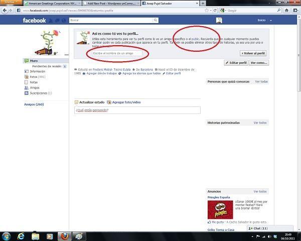Como ver lo protegido que estás en Facebook