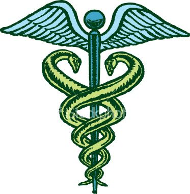 The Caduceus Is The Traditional Symbol Of Hermes And Features Two