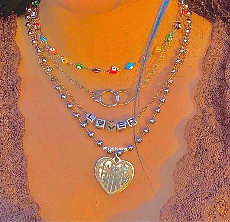 Indie Jewelry Aesthetic Indie Jewelry Grunge Jewelry Pretty Jewellery