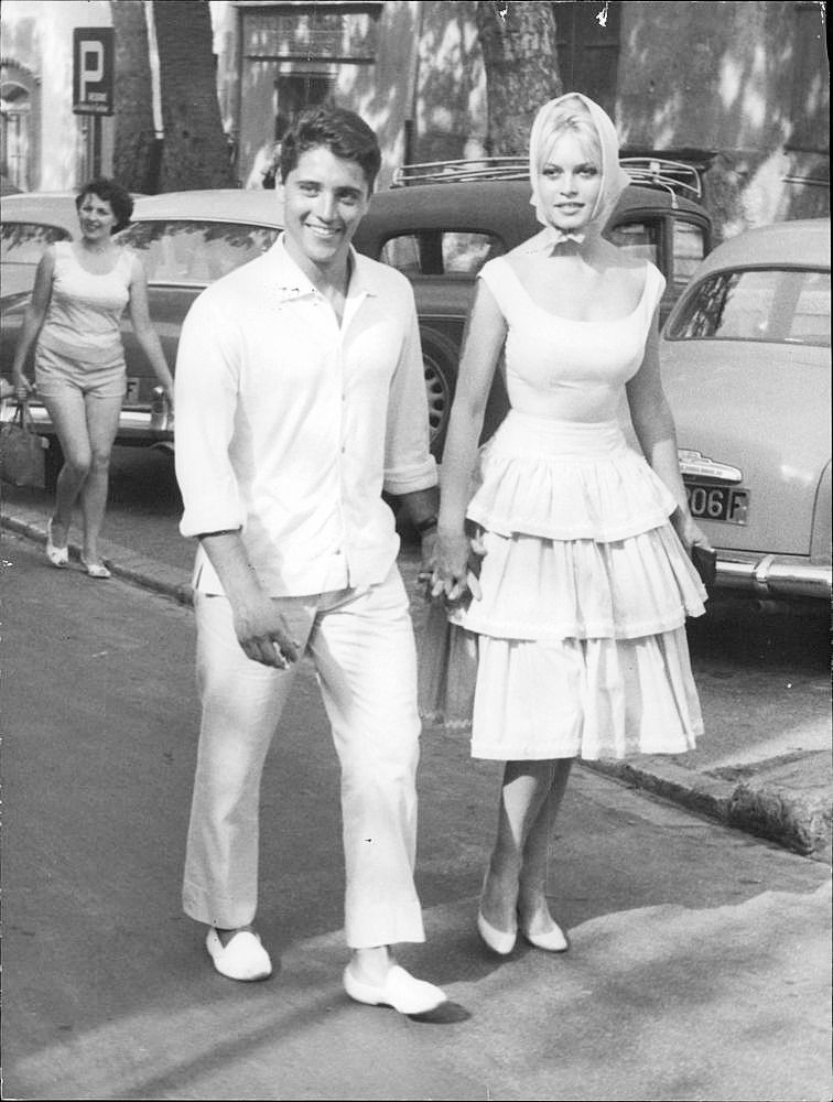 Image result for sacha distel and brigitte