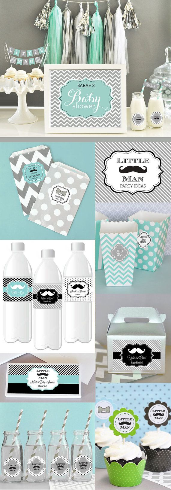 baby shower decor mustache party decorations mustache baby shower