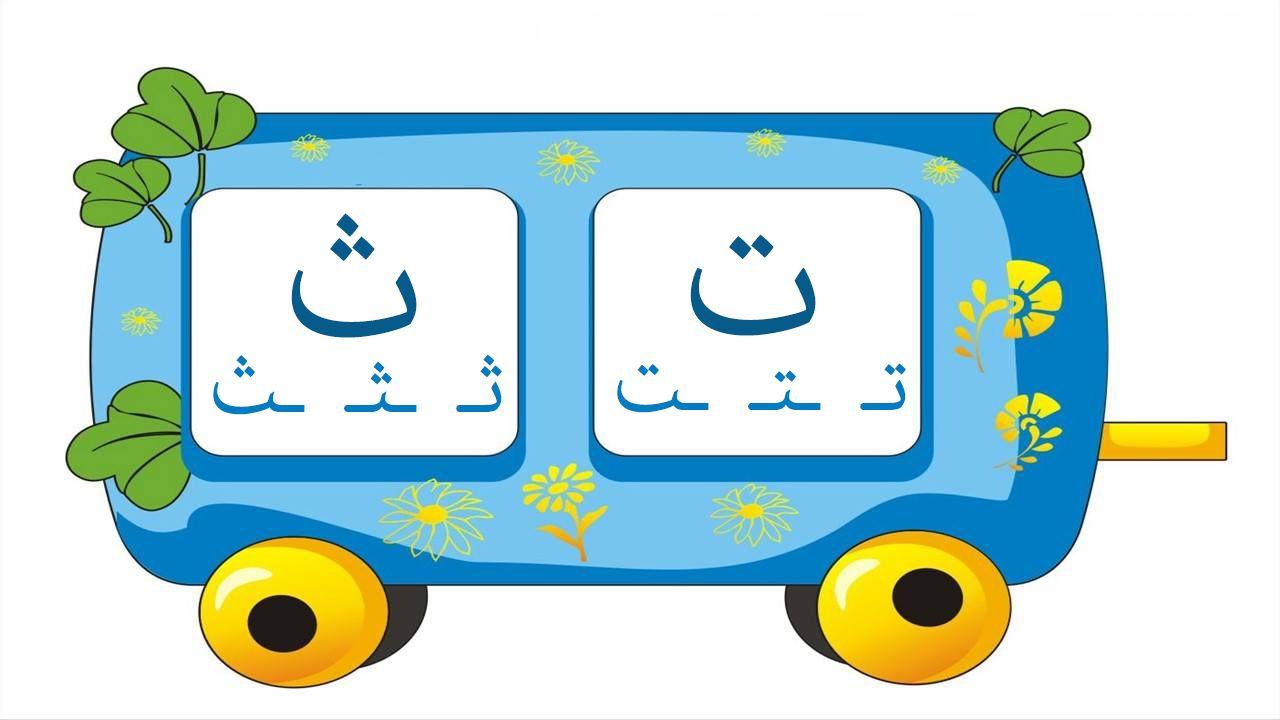 بطاقات قطار الحروف للطباعة تعليم وتثقيف الاطفال مجلة الاط Arabic Alphabet For Kids Arabic Kids Islamic Alphabet