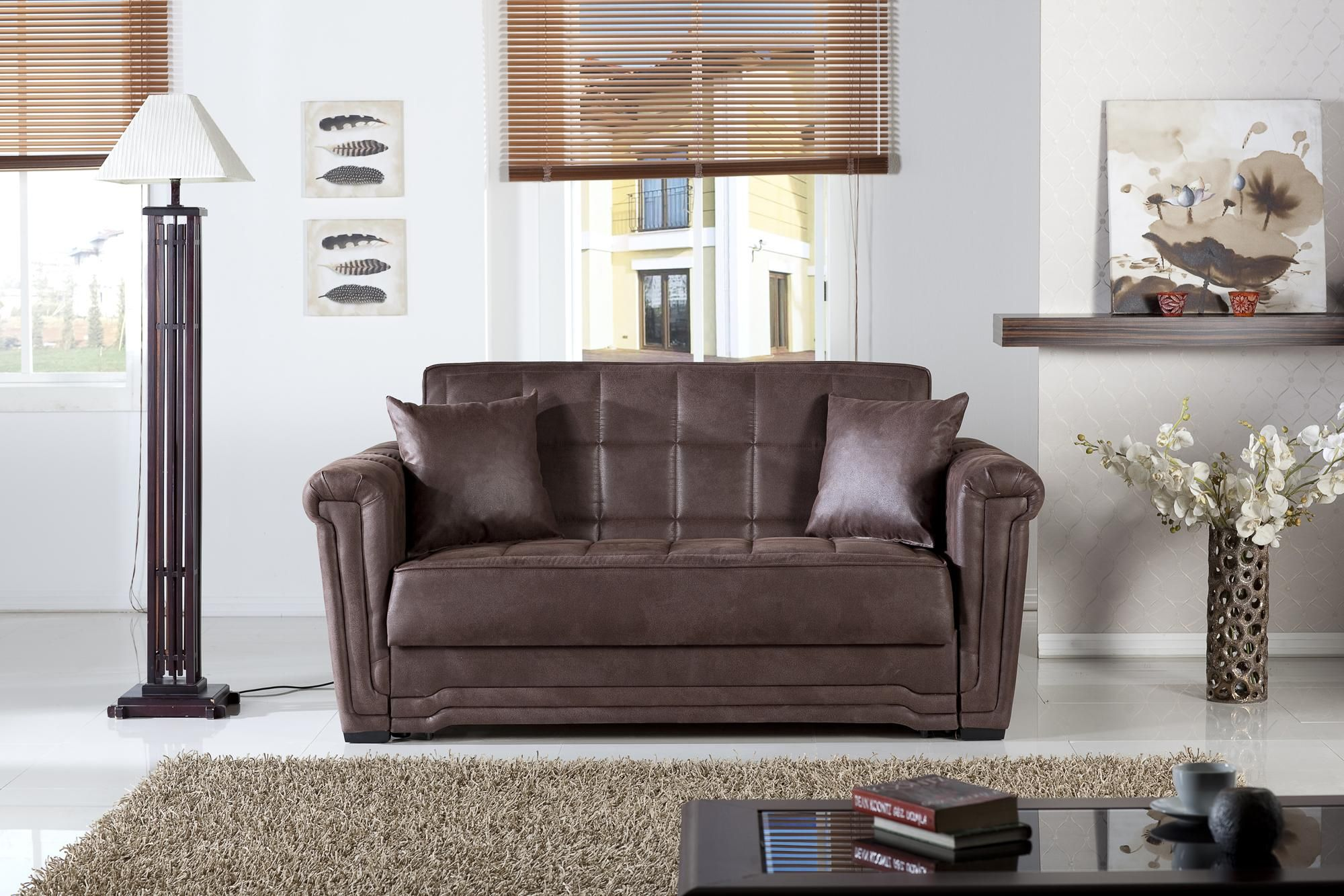 Victoria Mattress Convertible Sleeper With Images Contemporary Furniture Stores Love Seat