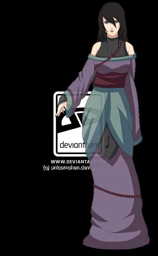 Naruto Oc: Oto no Yuurei by unicornchen on DeviantArt
