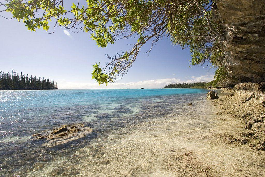 Baie D Oro Isle Des Pins Beach Free Maps
