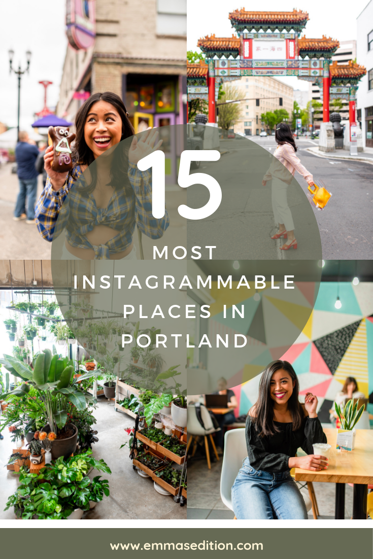 15 Most Instagrammable Places in Portland, Oregon