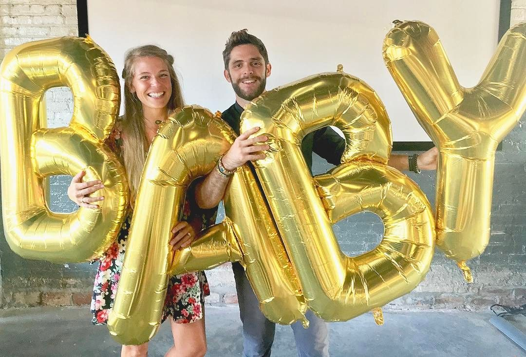 Thomas Rhett and wife Lauren expecting baby and adopting child