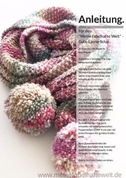 Lieblingsschal Heute Bekommt Ihr Die Anleitung Knitting Scarves