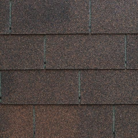 Best Harvest Brown Tahoma 3Tab Asphalt Roofing Shingles 400 x 300