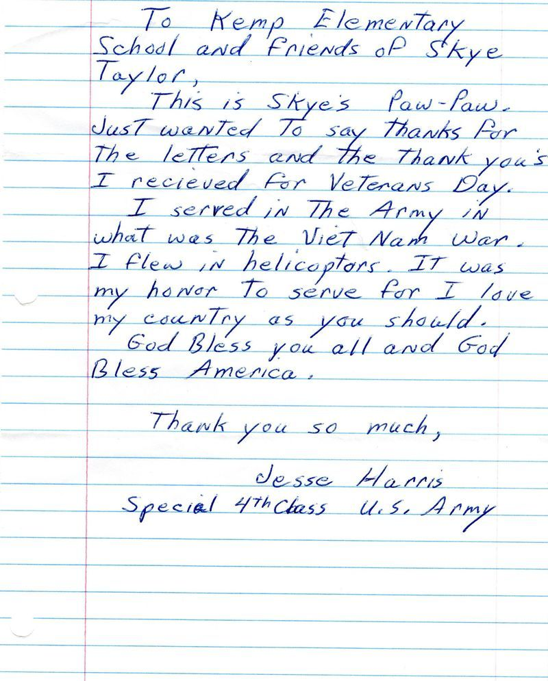 how write thank you letter veteran sweet veterans samples client