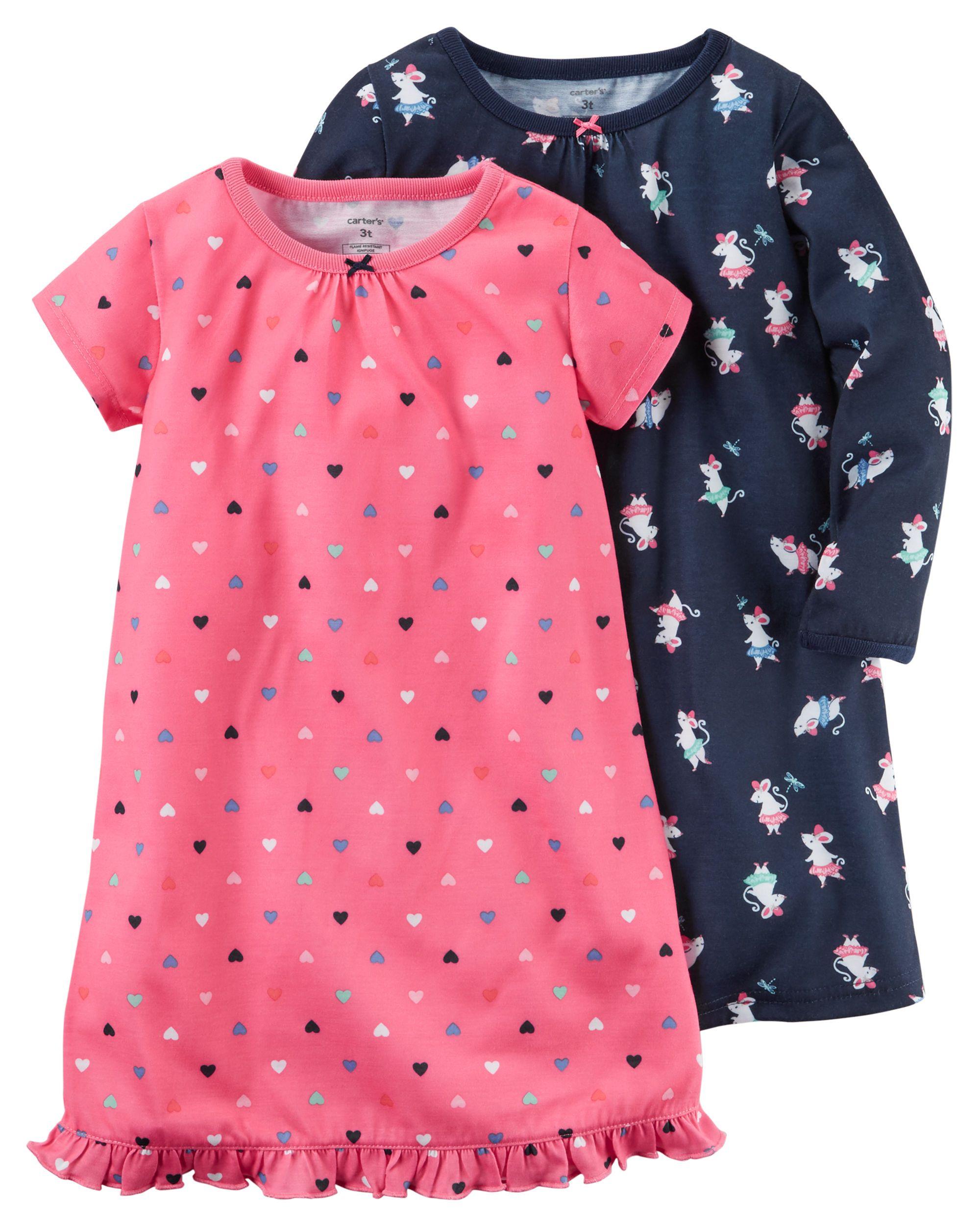 f48a6d075 2-Pack Sleep Gowns