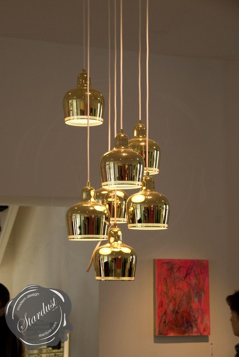 Alvar aaltos modernist a330s golden bell lamp is the ultimate mid alvar aaltos modernist a330s golden bell lamp is the ultimate mid century modern pendant light mozeypictures Images