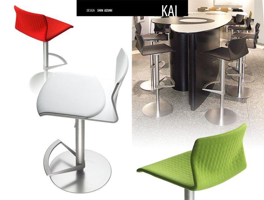 Taburete Kai de Lapalma.  Diseño: Shin Azumi.  Muebles de diseño.
