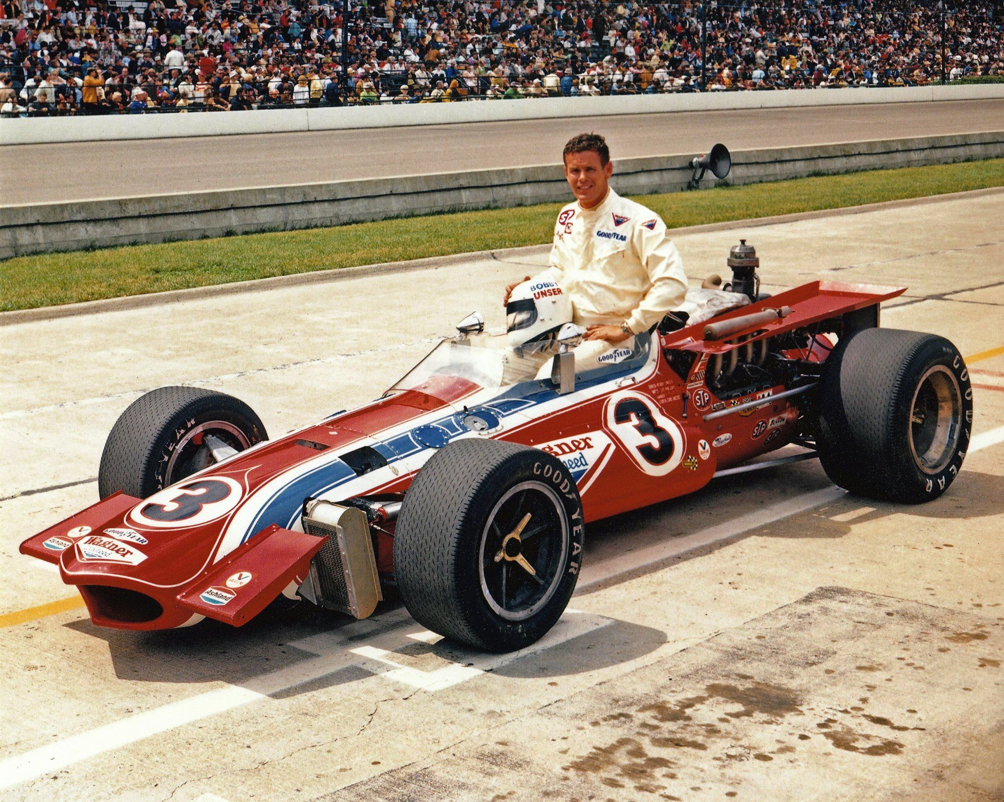 1970 Bobby Unser | Indy Roadster, Indy Cars, Indy Car Racing