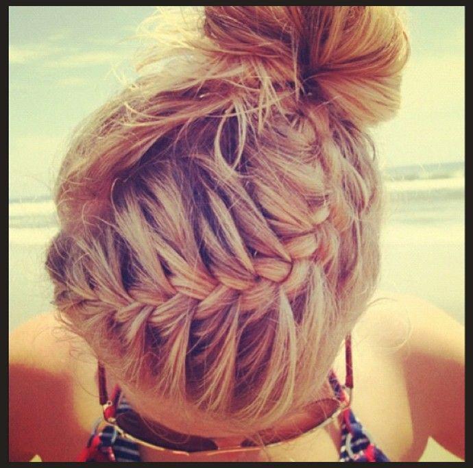 Instagram Insta-Glam: Braids #braidedbuns