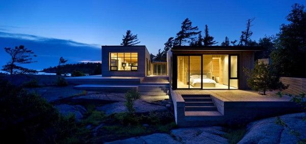 Luxury Cottage Home in Canada this island cottage is superkul