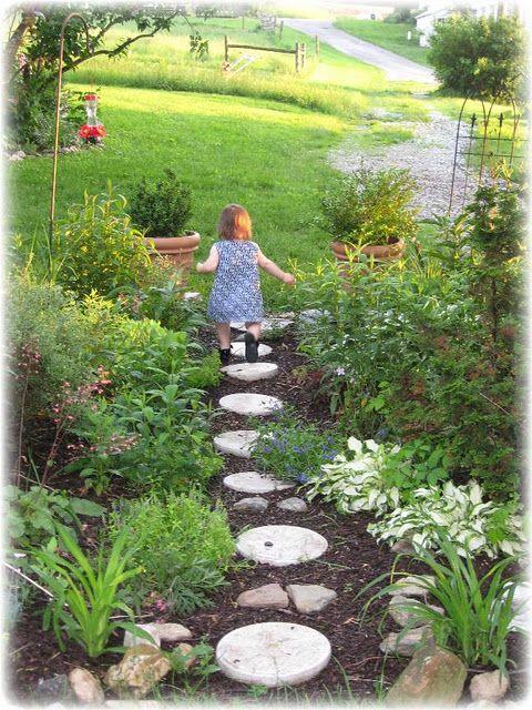 Pretty garden path | Garden | Pinterest | Garden paths, Paths and ...