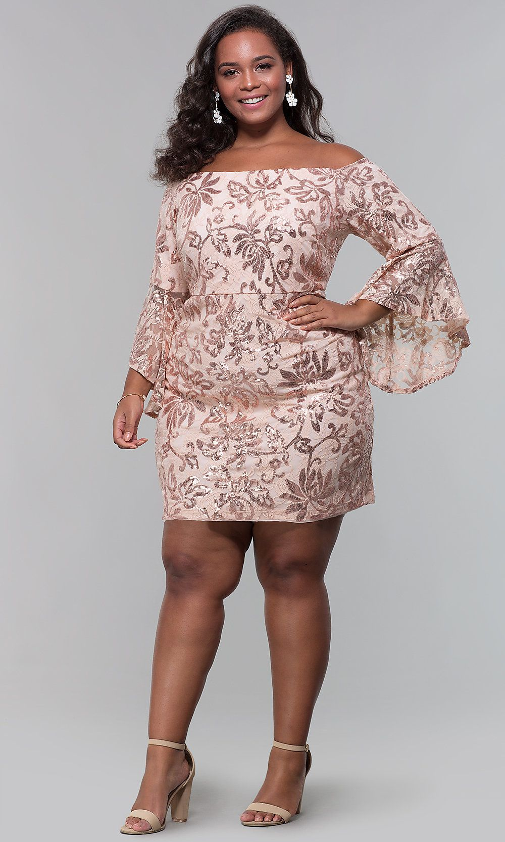 36 Plus Size Wedding Guest Dresses With Sleeves Alexa Webb Plus Size Cocktail Dresses Plus Size Wedding Guest Dresses Dresses To Wear To A Wedding