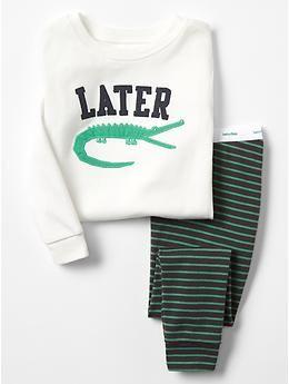 Later gator sleep set
