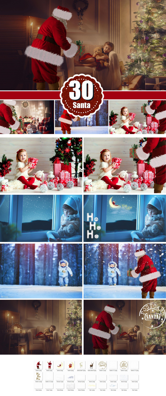 santa overlay photoshop overlay deer snow cloud star christmas holiday new year real santa winter clip art clipart