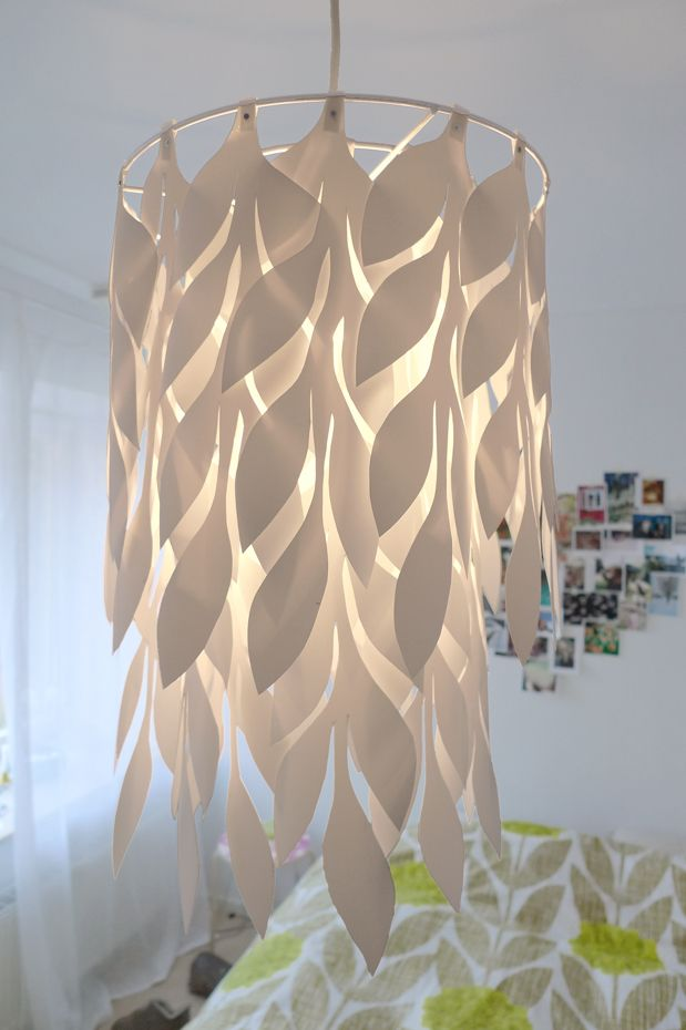 ceiling lamp shade i made inspired by our orla kiely