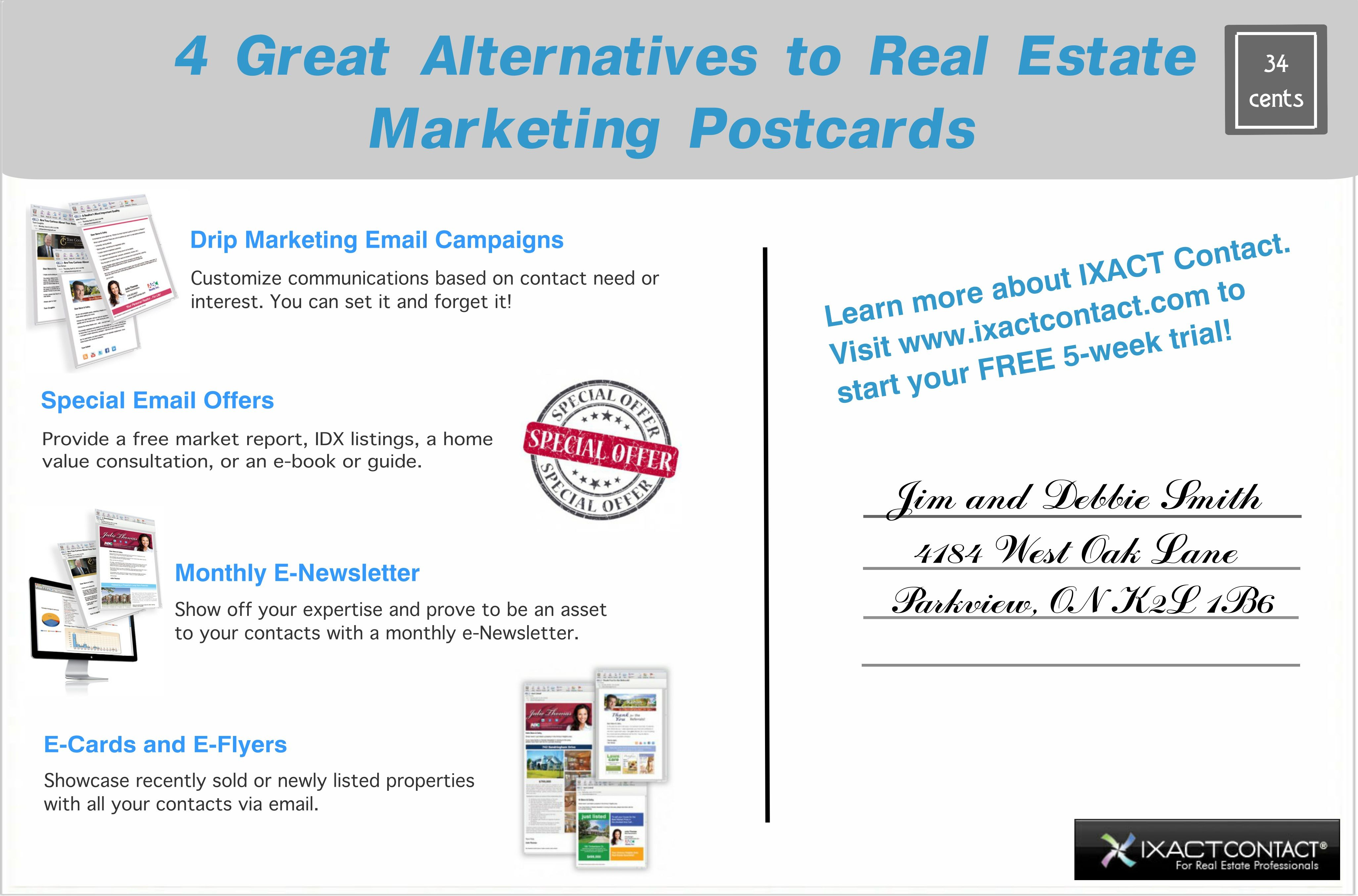 4 great alternatives to real estate marketing postcards