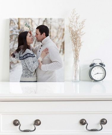 Another great find on #zulily! 8'' x 10'' Standard Wrap Customized Canvas Print #zulilyfinds