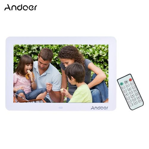 Andoer 12 Wide Screen Hd Led Digital Picture Frame Digital Album High Resolution 1280 800 Electronic Ph Digital Picture Frame Digital Photo Frame Digital Photo