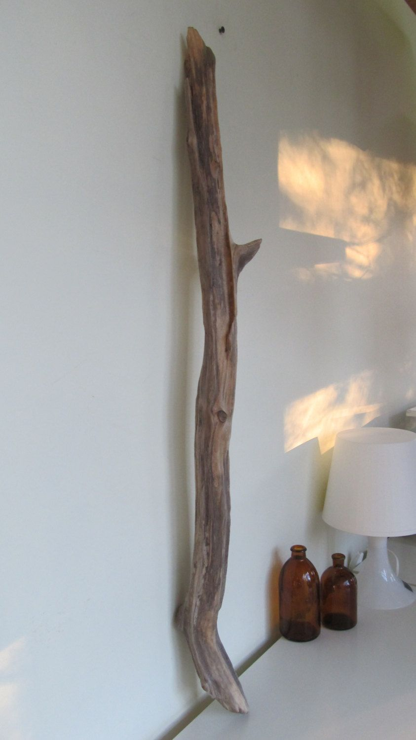 Large lovely driftwood branch for driftwood wall hanging for Driftwood wall