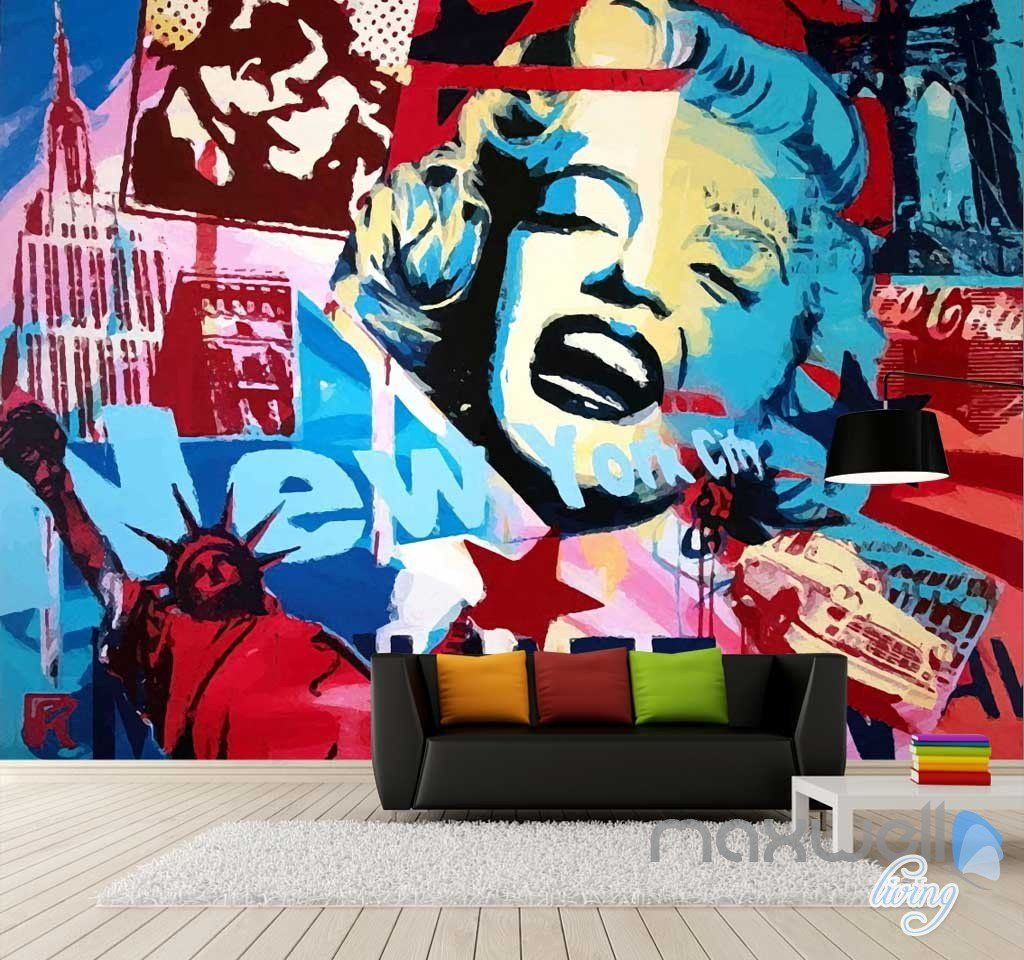 Wall murals  https://www.google.com.au/search?q=