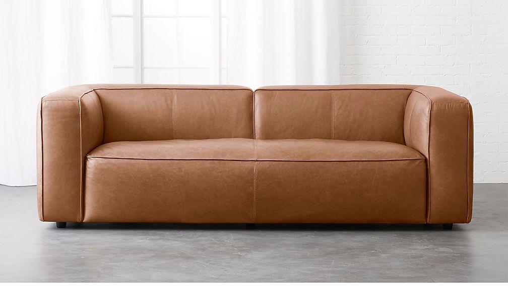 lenyx cognac leather sofa in 2019 | furniture | Cognac ...