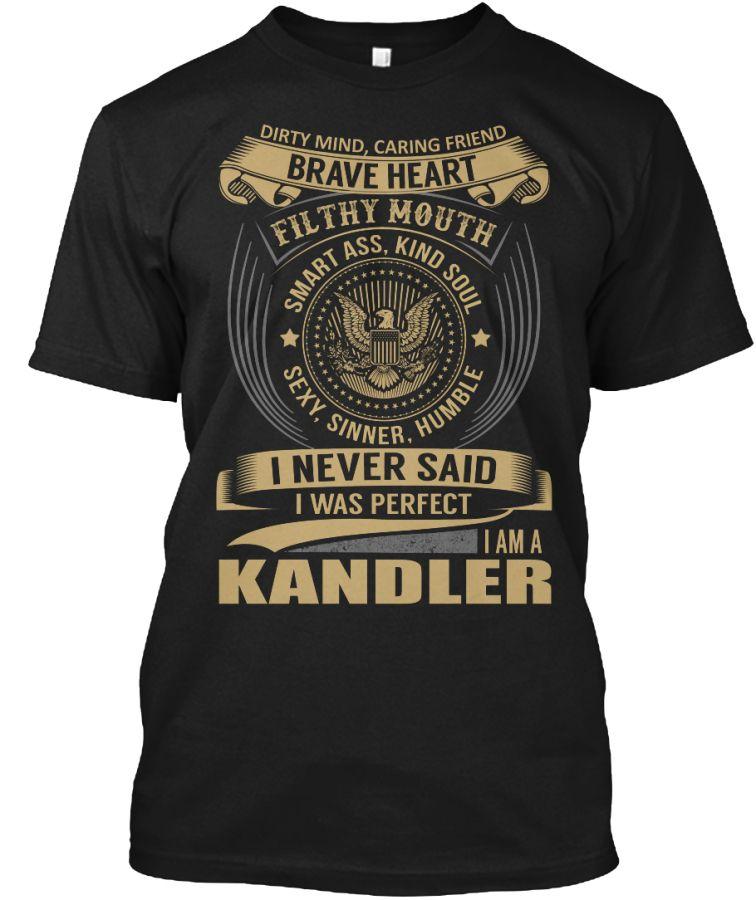 KANDLER - I Never SaidIWas Perfect