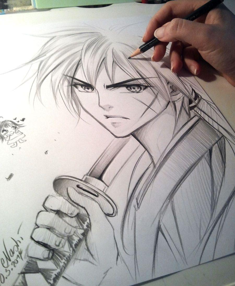 Kenshin By Naschi.deviantart.com On @deviantART