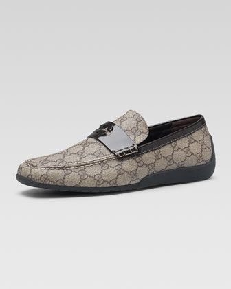 Men s Designer Shoes at Neiman Marcus. GG Plus Moccasin by Gucci at Neiman  Marcus. c2b88dc89