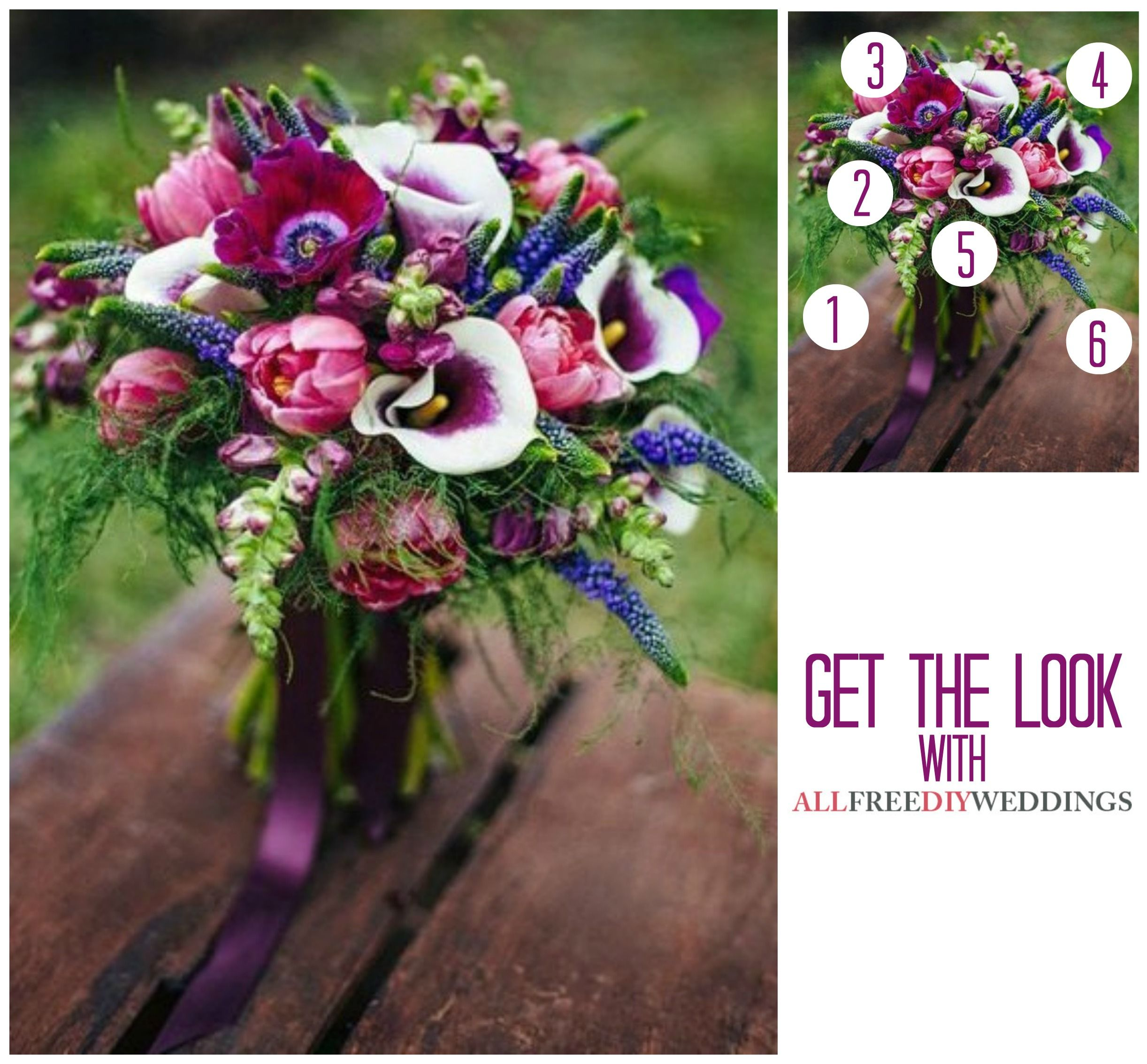 Wow Just Wow Purple Wedding Flowers For The Win All Things