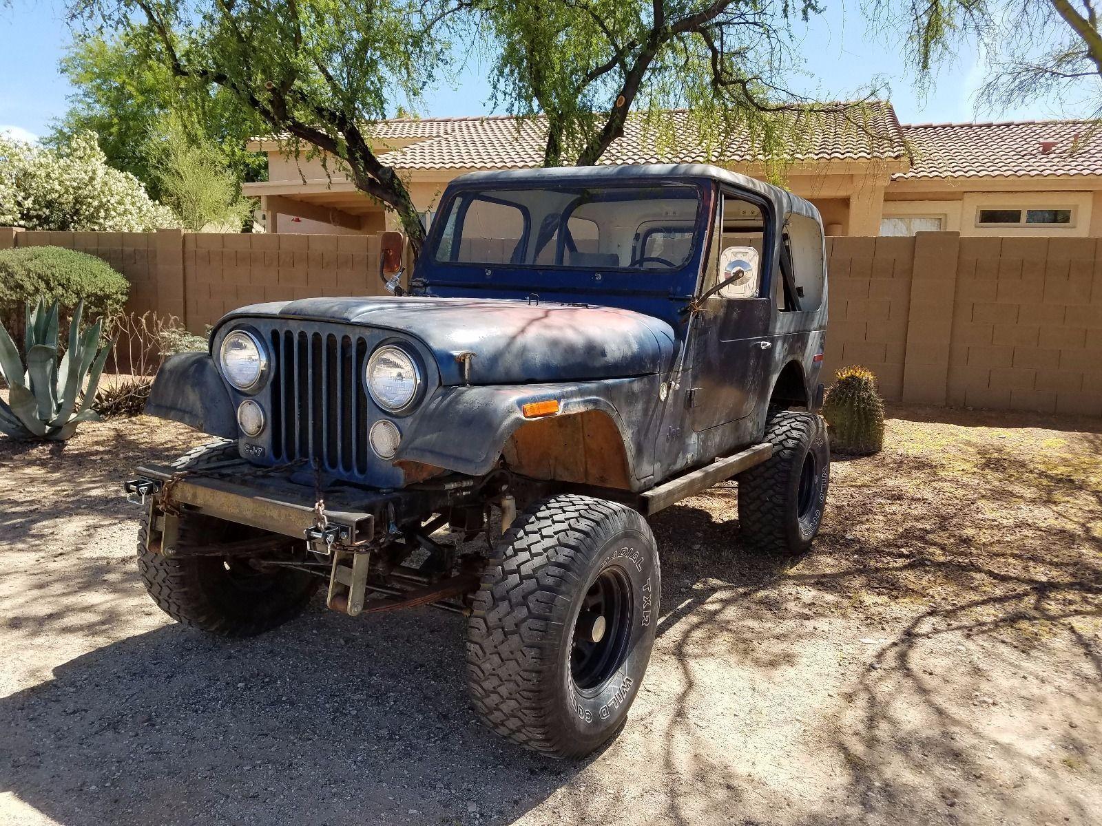 eBay 1976 Jeep CJ 1976 CJ 7 project Jeep carparts carrepair