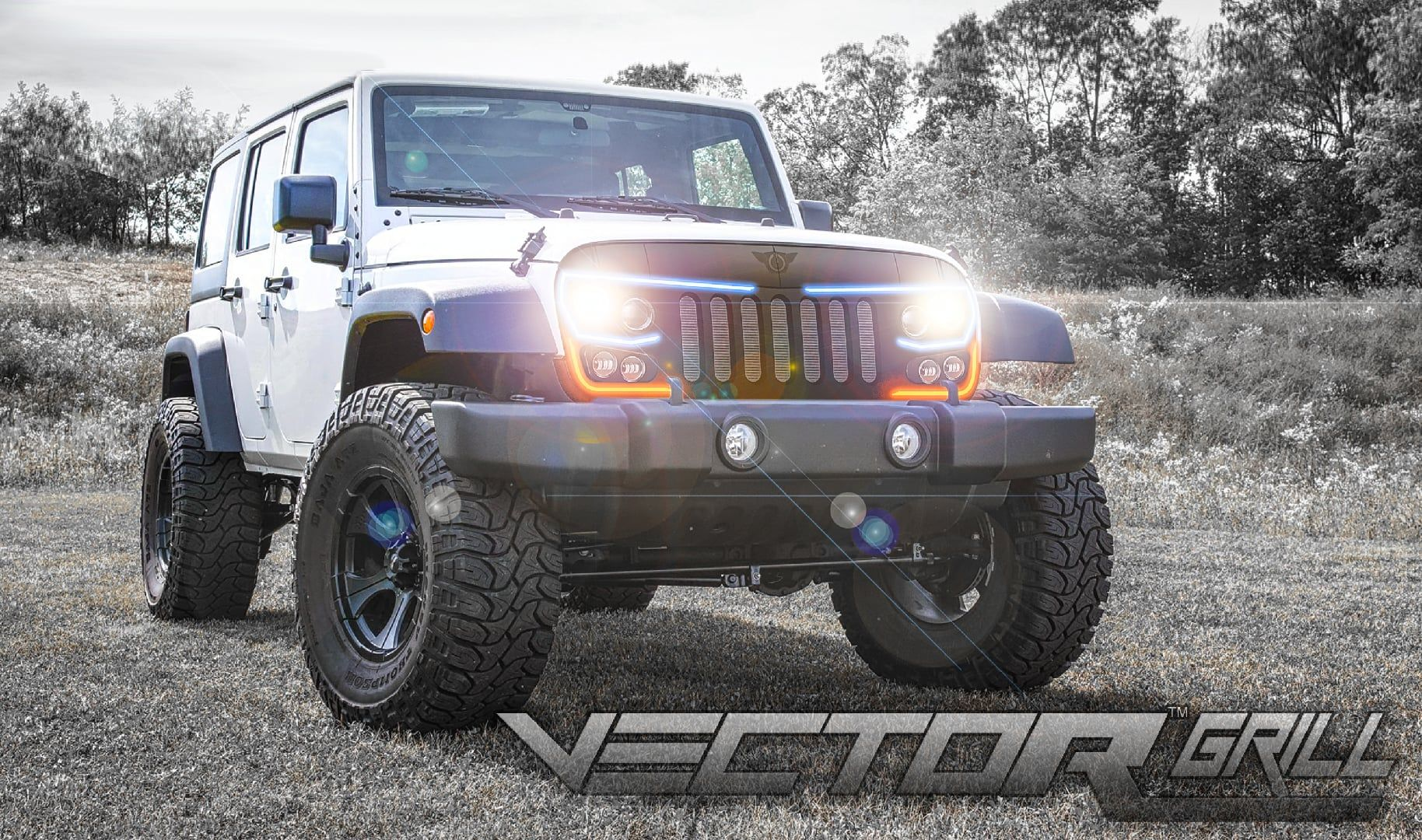 Series Grill For The Jeep Wrangler Jk