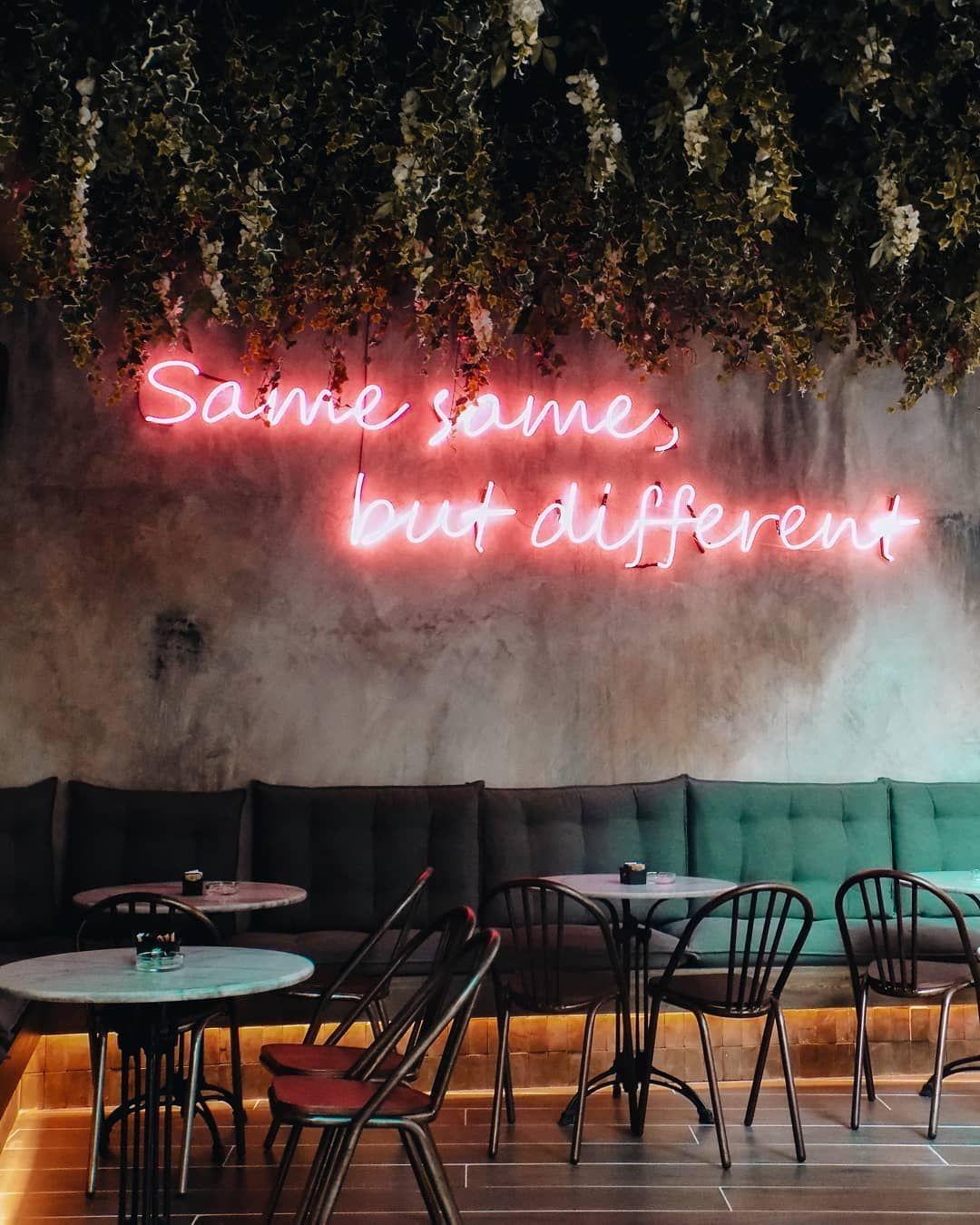 Same Same But Different At Sicario Allday Bar Landscapelightingdesign Restaurant Interior Bar Design Restaurant Restaurant Interior Design