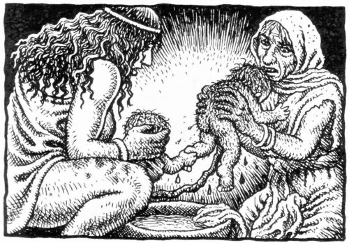 Robert Crumb - The story of Isaac - The birth of Esau and Jacob ...