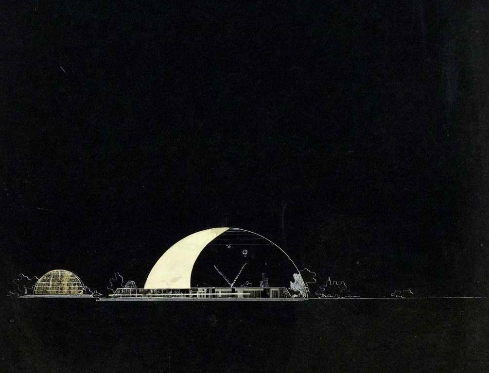 Иван Леонидов Дом культуры в Москве | Opera house, Sydney ...