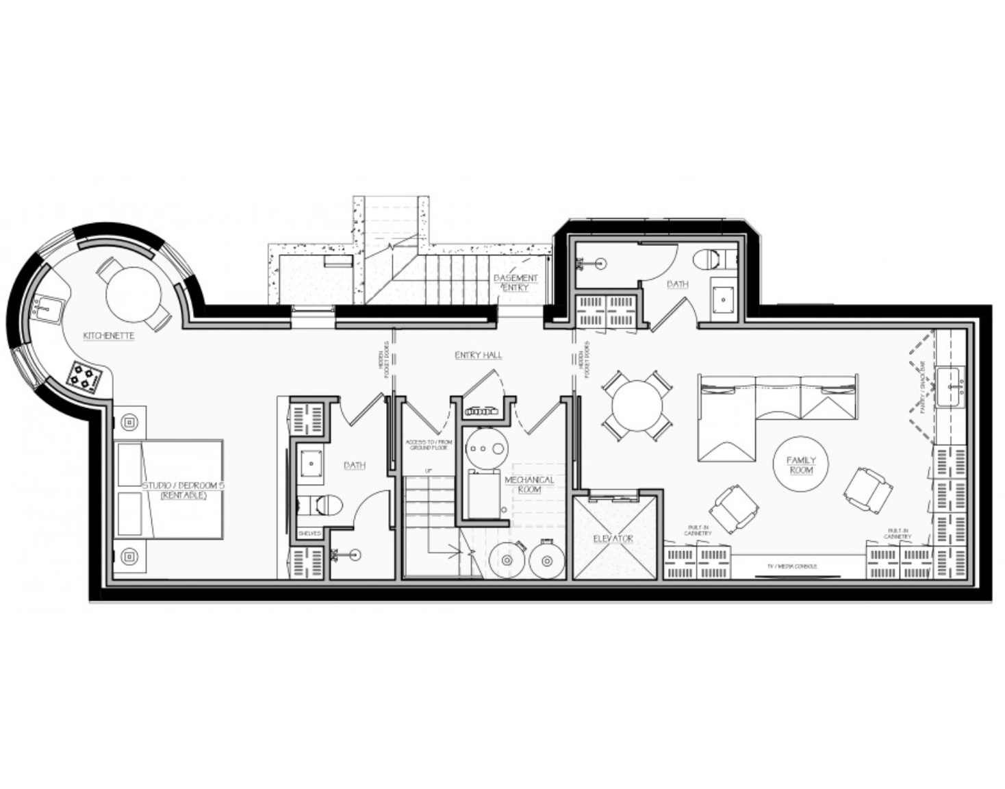 Competition Results See Design Entries For The Floor Plan For Luxury Row House Competition In Washington Dc Floor Plan Layout Floor Plans House Floor Plans