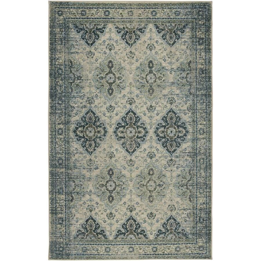 Mohawk Home Prismatic Light Indoor Area Rug Common 10 X 14 Actual 10 Ft W X 14 Ft L Z0508 A411 120168 In 2020 Area Rugs Area Rugs For Sale Light Blue Area Rug