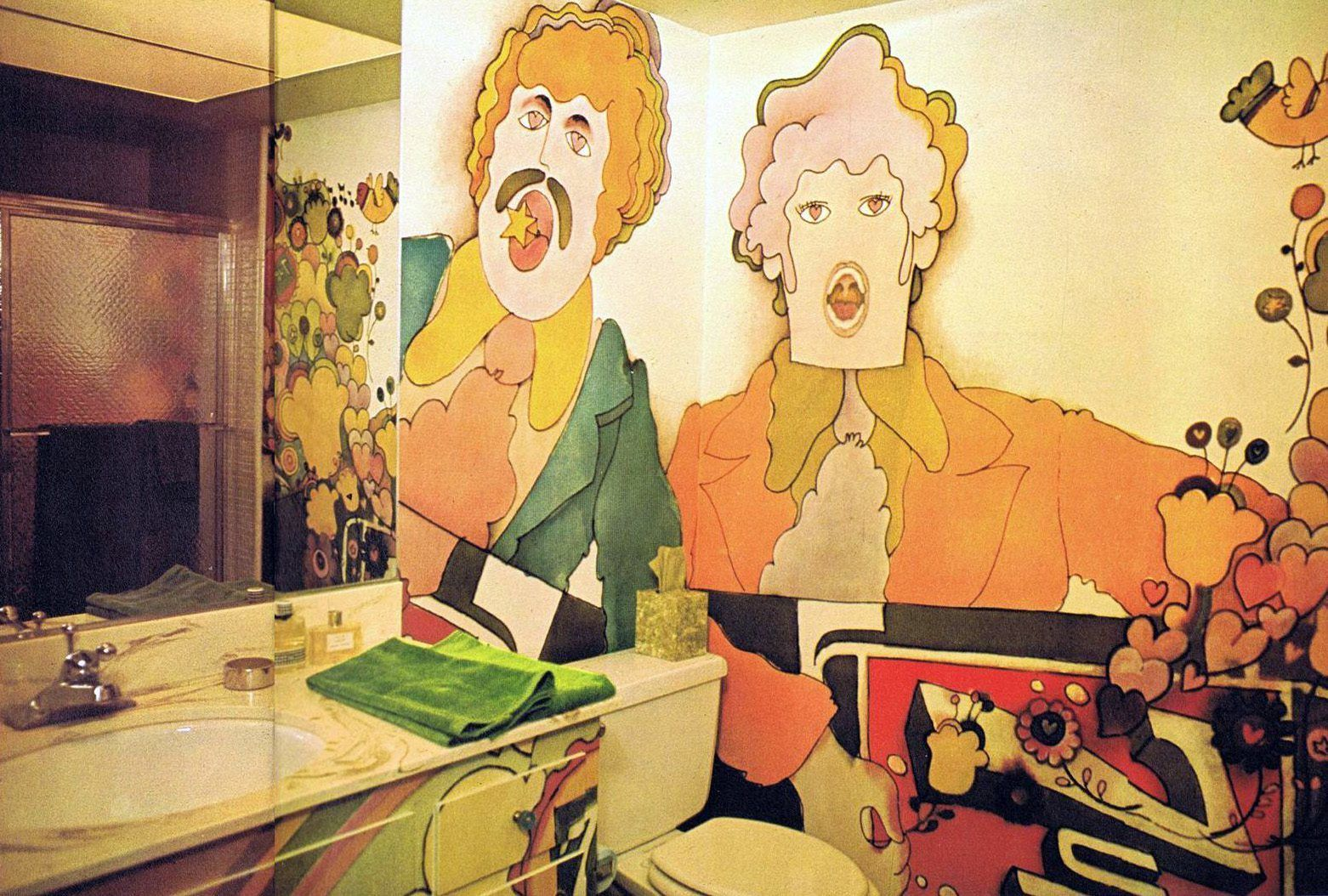 Magical Mystery Dcor Trippy Home Interiors Of The 60s And 70s ...