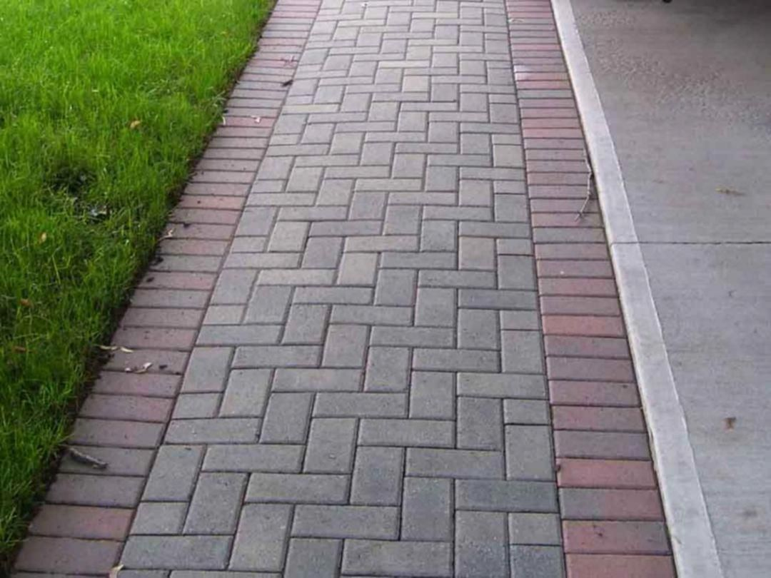Concretewalkway Brick Pathway Brick Sidewalk Outdoor Walkway