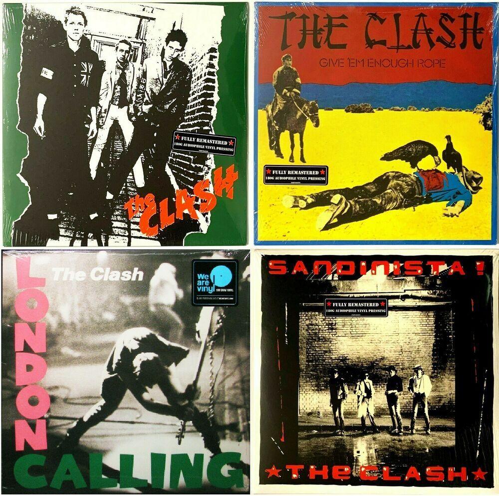 The Clash First Four Albums Sandinista London Calling Lp Vinyl Record Lot Of 4 Ebay In 2020 Vinyl Records The Clash Lp Vinyl